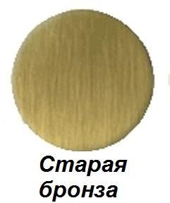 Полотенцесушитель электрический Margaroli Sole 564-8, арт. 5644708OBC, старая бронза (Old brass)