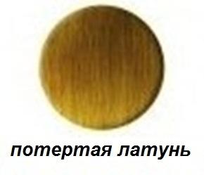 Полотенцесушитель электрический Margaroli Sole 564-8, арт. 5644708ORB, потертая латунь (O.Rubb. Brass)
