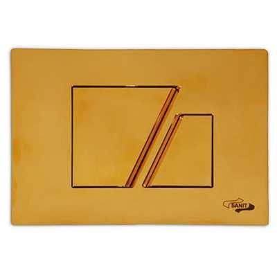 Клавиша Sanit 16.707.88.0000, золото