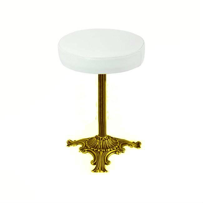 Пуфик для ванной Migliore Mirella ML.MRL-50.106.DO - золото