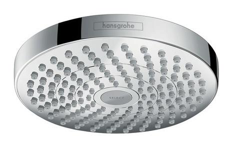 Верхний душ Hansgrohe Croma Select S 180 2jet EcoSelect, цвет хром