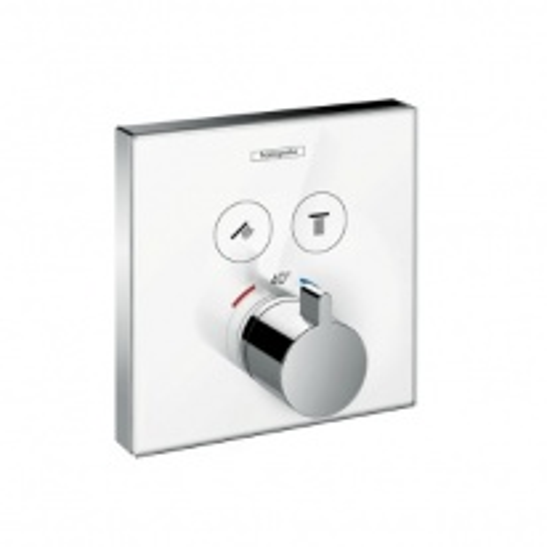 Смеситель для душа Hansgrohe ShowerSelect термостатический, белый/хром