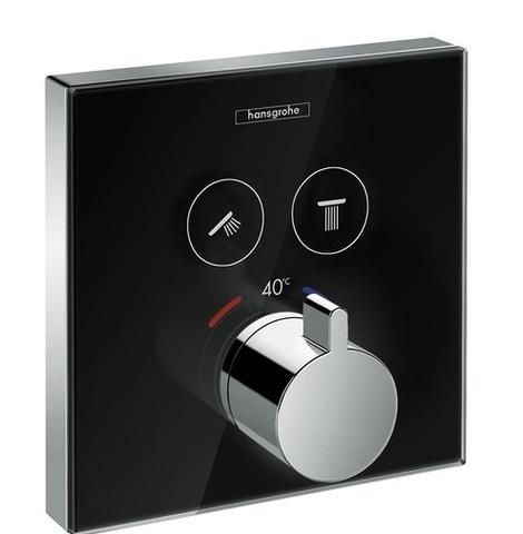 Смеситель для душа Hansgrohe ShowerSelect термостатический, черный/хром