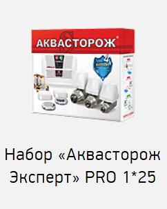 Система контроля протечки воды «Аквасторож Классика» PRO 1х25 TH23