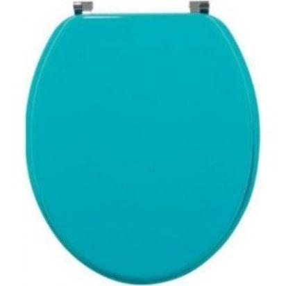 Крышка-сиденье для унитаза Wirquin Colors line Бирюза 20719142