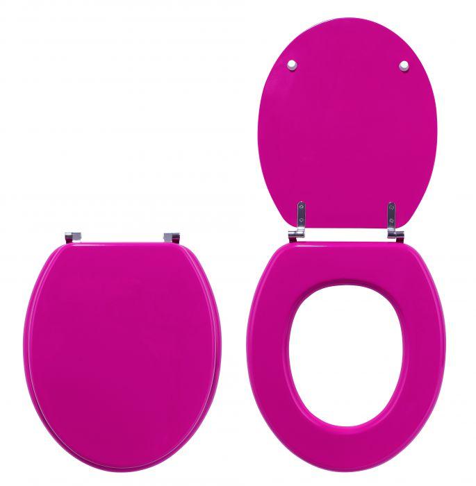Крышка-сиденье для унитаза Wirquin Colors line Малина 20719143