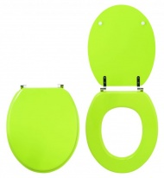 Крышка-сиденье для унитаза Wirquin Colors line Зеленое яблоко 20719144
