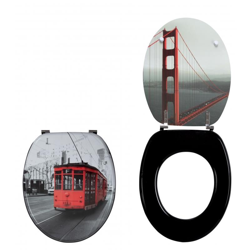 Крышка-сиденье для унитаза Wirquin Trendy line Сан-Франциско 20719124