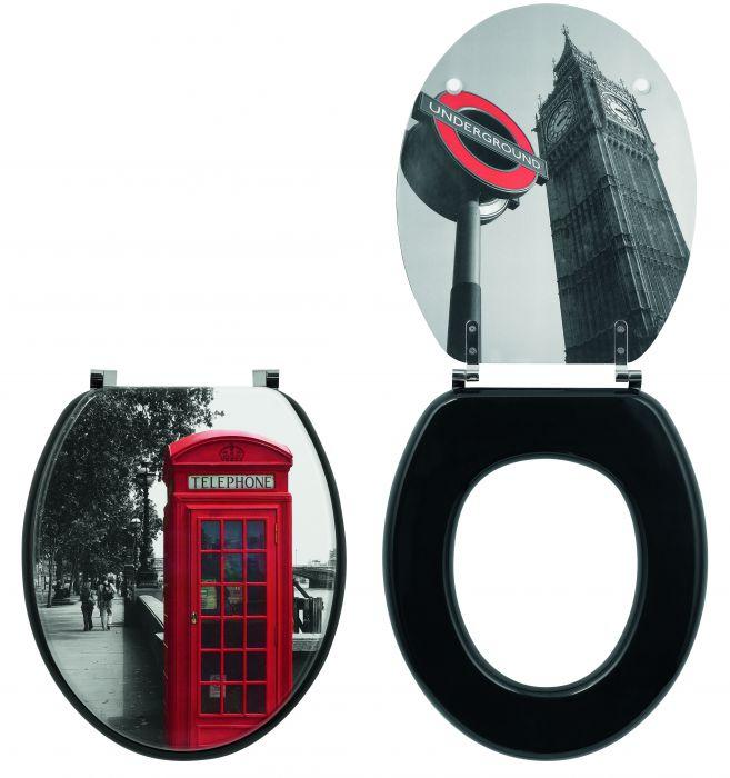 Крышка-сиденье для унитаза Wirquin Trendy line Лондон 20718562