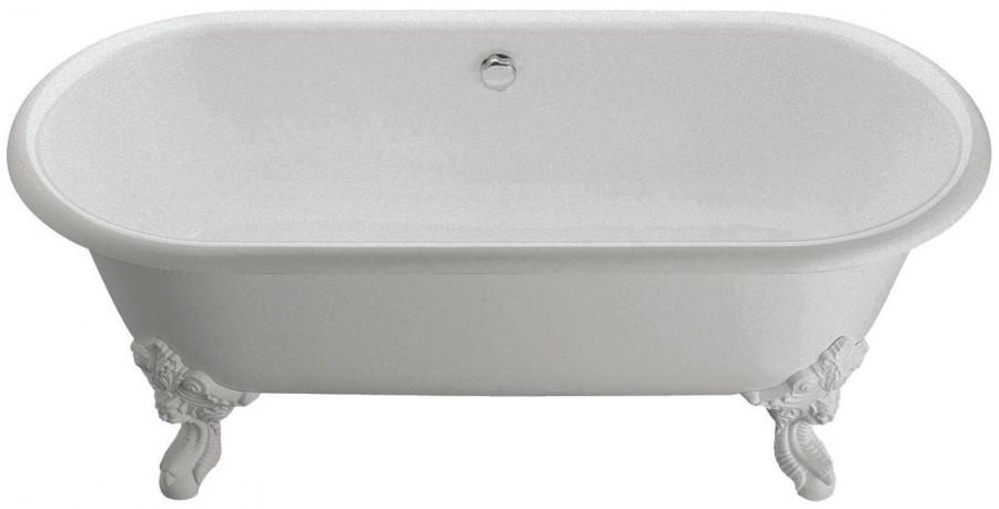 Ванна чугунная Jacob Delafon CLEO E2901N-00 окрашенная в белый цвет, 175х80 см