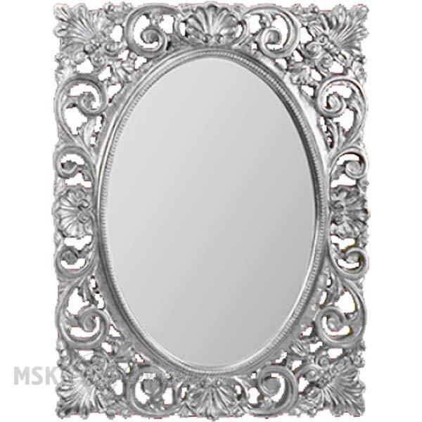 Зеркало прямоугольное Migliore Complementi арт.ML.COM-70.721, h95xL73xP4 cm, серебро