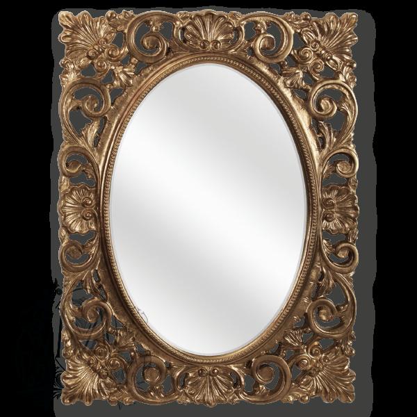 Зеркало прямоугольное Migliore Complementi арт.ML.COM-70.721, h95xL73xP4 cm, бронза