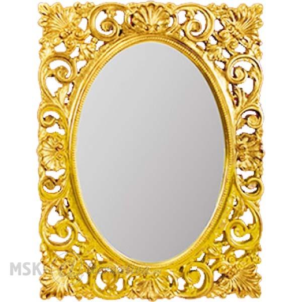 Зеркало прямоугольное Migliore Complementi арт.ML.COM-70.721, h95xL73xP4 cm, золото