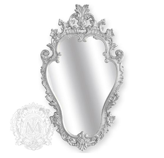 Зеркало фигурное Migliore Complementi арт.ML.COM-70.723, h76*L44*P4 см, серебро