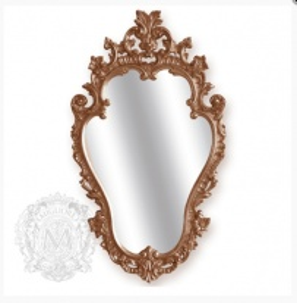 Зеркало фигурное Migliore Complementi арт.ML.COM-70.723, h76*L44*P4 см, бронза