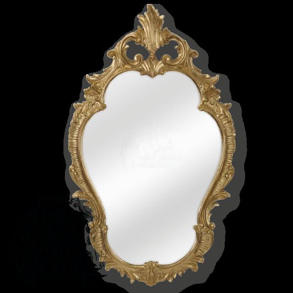 Зеркало фигурное Migliore Complementi арт.ML.COM-70.725, h98*L58*P4 см, бронза