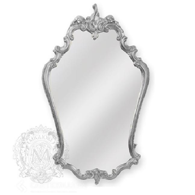 Зеркало фигурное Migliore арт.ML.COM-70.722, h95*L57*P5 см, серебро