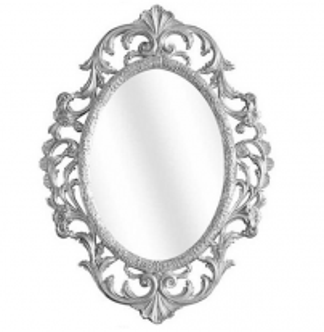 Зеркало фигурное Migliore Complementi арт.ML.COM-70.507, h105*L77*P4 см, серебро