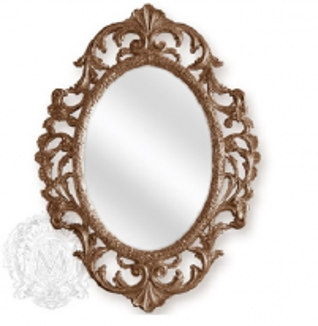 Зеркало фигурное Migliore Complementi арт.ML.COM-70.507, h105*L77*P4 см, бронза