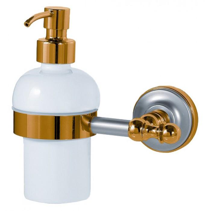 Дозатор жидкого мыла Migliore Mirella ML.MRL-M068.CRDO - хром/золото