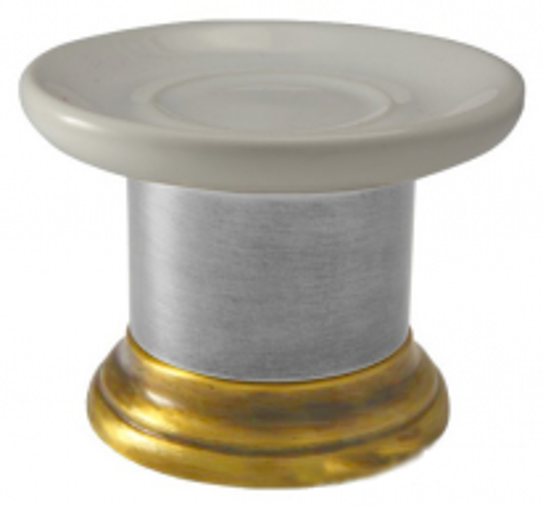 Мыльница Migliore Mirella ML.MRL-4411.CRDO - хром/золото
