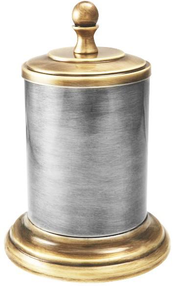 Баночка Migliore Mirella ML.MRL-4810CRDO - хром/золото