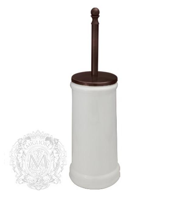 Ершик напольный Migliore Mirella ML.MRL-M064.BT, напольный, керамика, тосканская бронза
