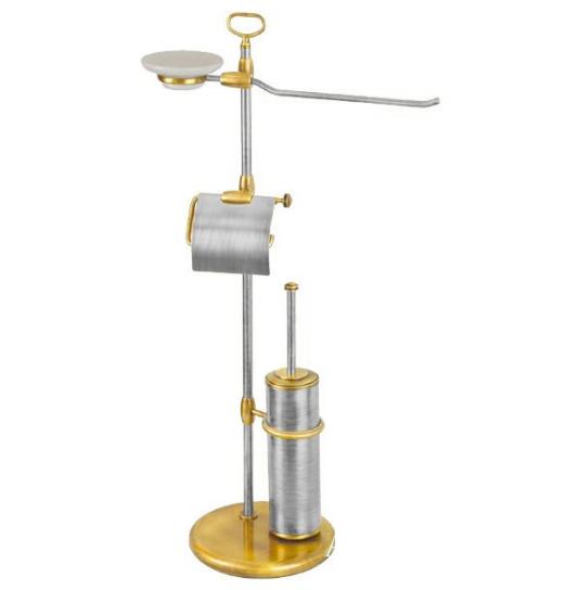 Стойка 4-х функциональная Migliore Mirella ML.MRL-2104CRDO - хром/золото