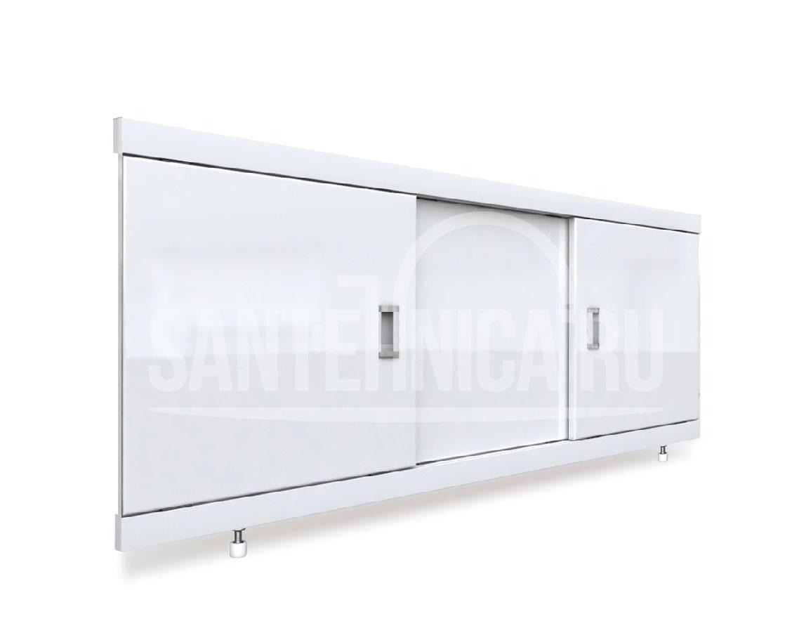 Экран под ванну Emmy Виктория 160, подрезной, белый