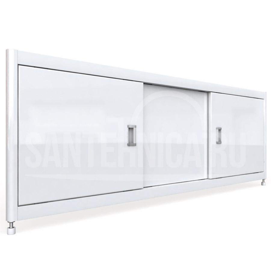Экран под ванну Emmy Монро 140, белый