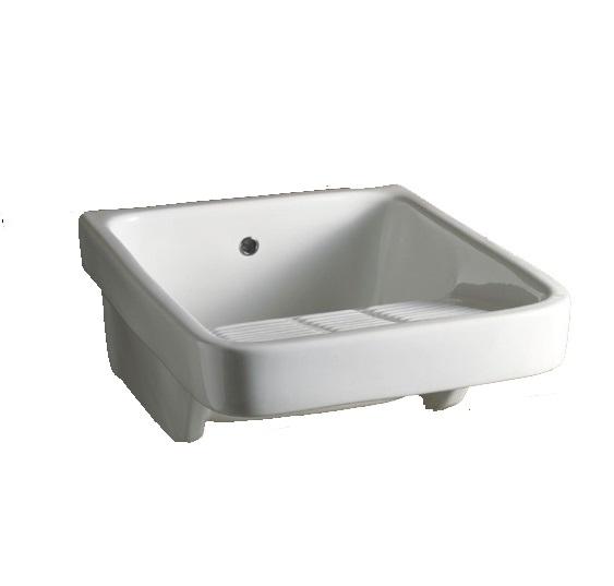 Раковина AliceCeramica Laundry  300305 47*60*27 см хозяйственная