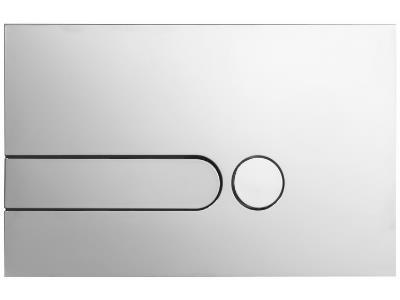 Кнопка смыва Jacob Delafon E4326-38R цвет матовый велюр (супер сталь)