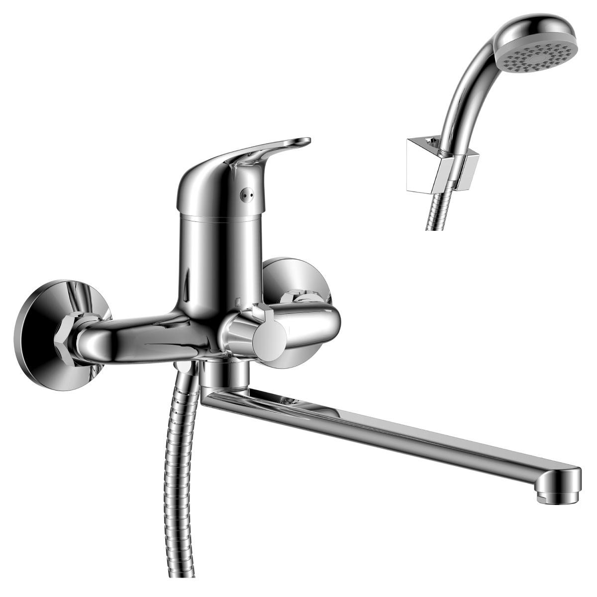 Смеситель для ванны Rossinka Y40-32 с душевым гарнитуром