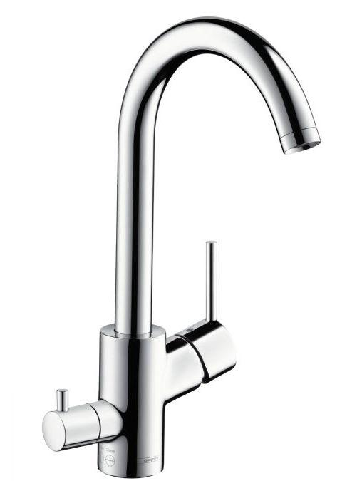 Смеситель Hansgrohe Talis S 2 Variarc 14875000 для кухонной мойки с клапаном для посудомоечной машины
