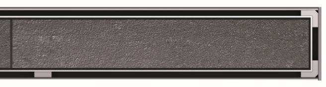 Решетка Aco Showerdrain C 408602 98.5 см для душевого канала, Под плитку