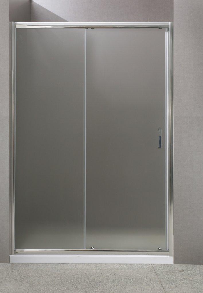 Душевая дверь в нишу BelBagno Uno UNO-BF-1-140-C-Cr 140х185 см
