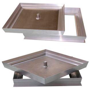 Люк напольный Revizor Армада 50 50х50 см для погреба