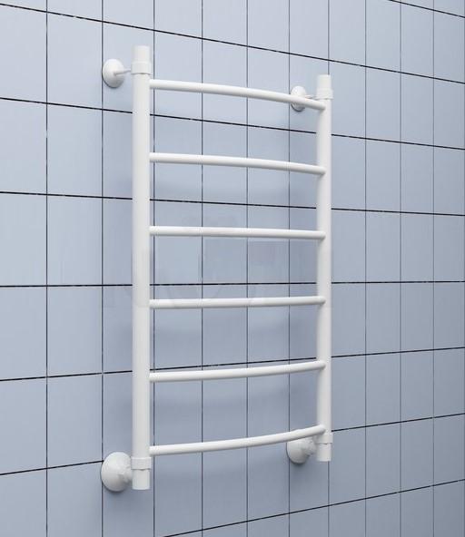 Полотенцесушитель водяной Ника ARC ЛД белый 60х50
