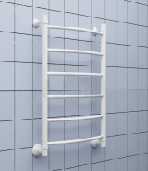 Полотенцесушитель водяной Ника ARC ЛД белый 60х60
