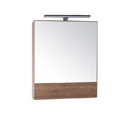 Зеркало АСБ-Мебель Анкона 60 с подсветкой