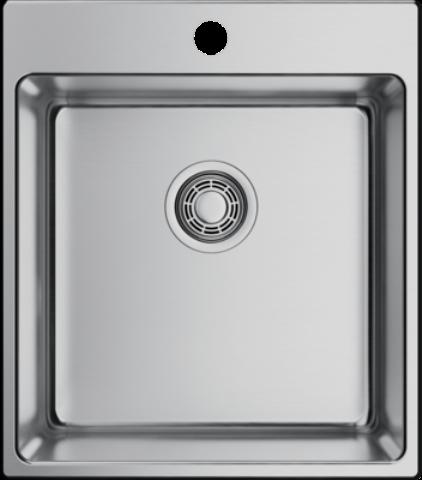 Мойка кухонная Omoikiri Amadare 44-IN нержавеющая сталь/нержавеющая сталь 4993640