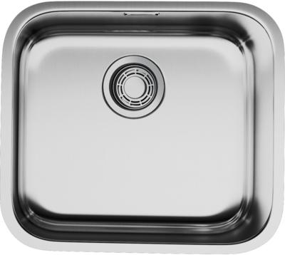 Мойка кухонная Omoikiri Omi 49-U-IN 4993066 нержавеющая сталь