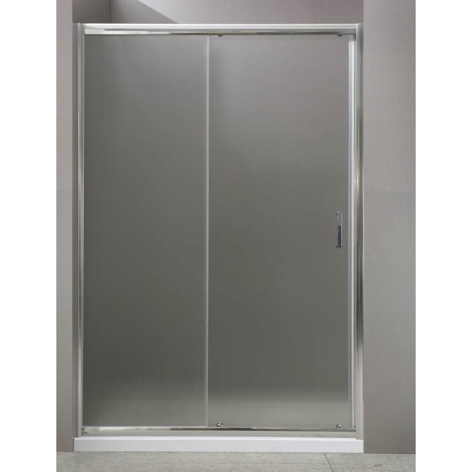 Душевая дверь в нишу BelBagno Uno UNO-BF-1-130-C-Cr 130х185 см