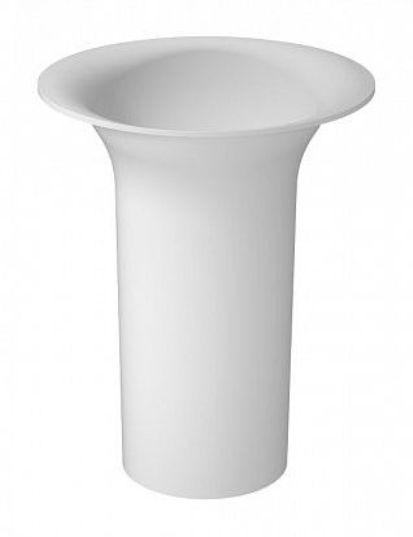 Раковина Aquanet Entice V21 198986, 60*38*86 см напольная, цвет белый матовый