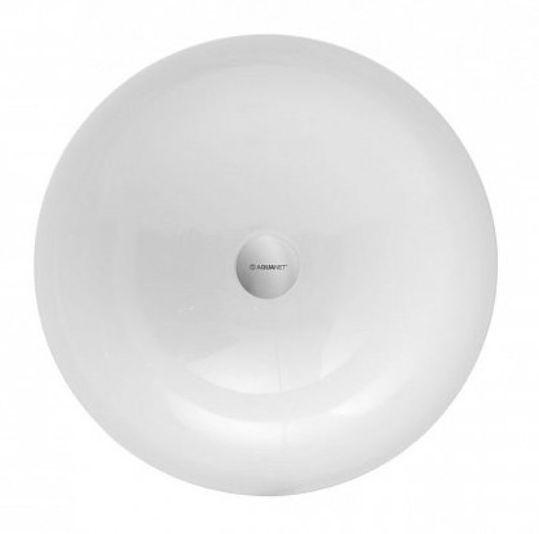 Раковина Aquanet Entice V32 198991, 45*45*13.5 см накладная, цвет белый глянцевый