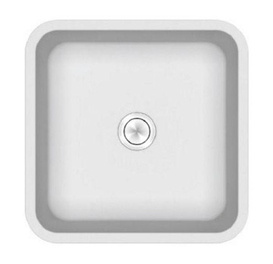 Раковина Kerrock Ofelia-ON 40 x 40 x 15 см накладная, цвет белый