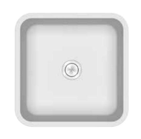 Раковина Kerrock Ofelia-IN 40*40*15 см встраиваемая, цвет белый