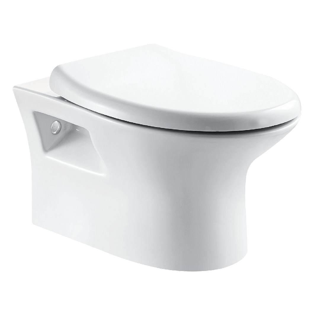 Унитаз подвесной Creo Ceramique Nice NI1100, с сиденьем NI1001