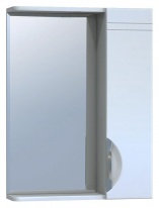 Зеркало-шкаф Vigo Jika 50, №19-500-Пр (б/э), без электрики, шкаф справа