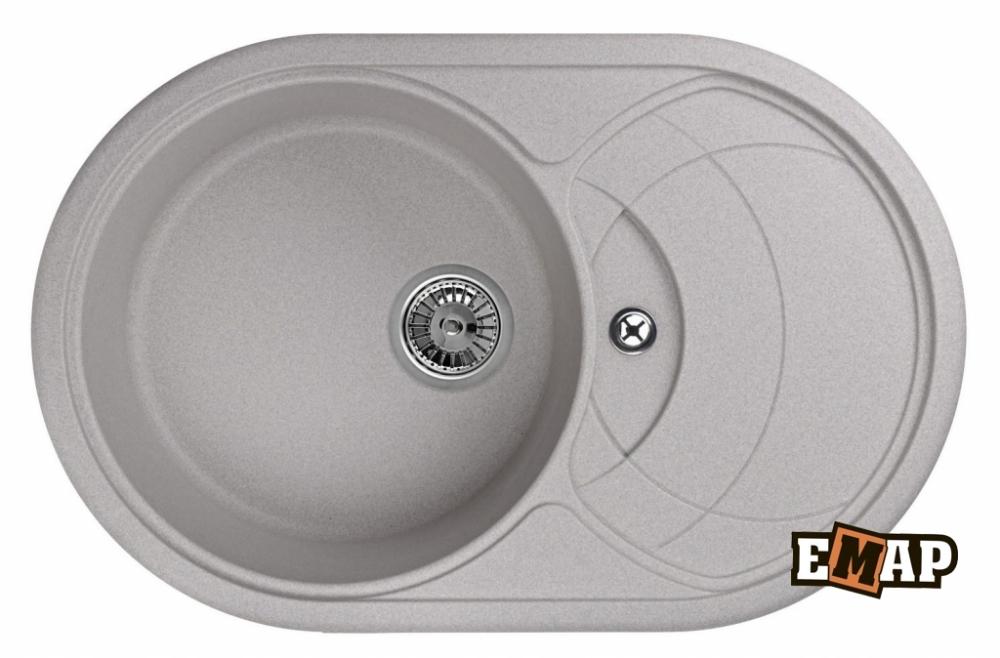 Мойка кухонная Емар ЕМ-7801, антик